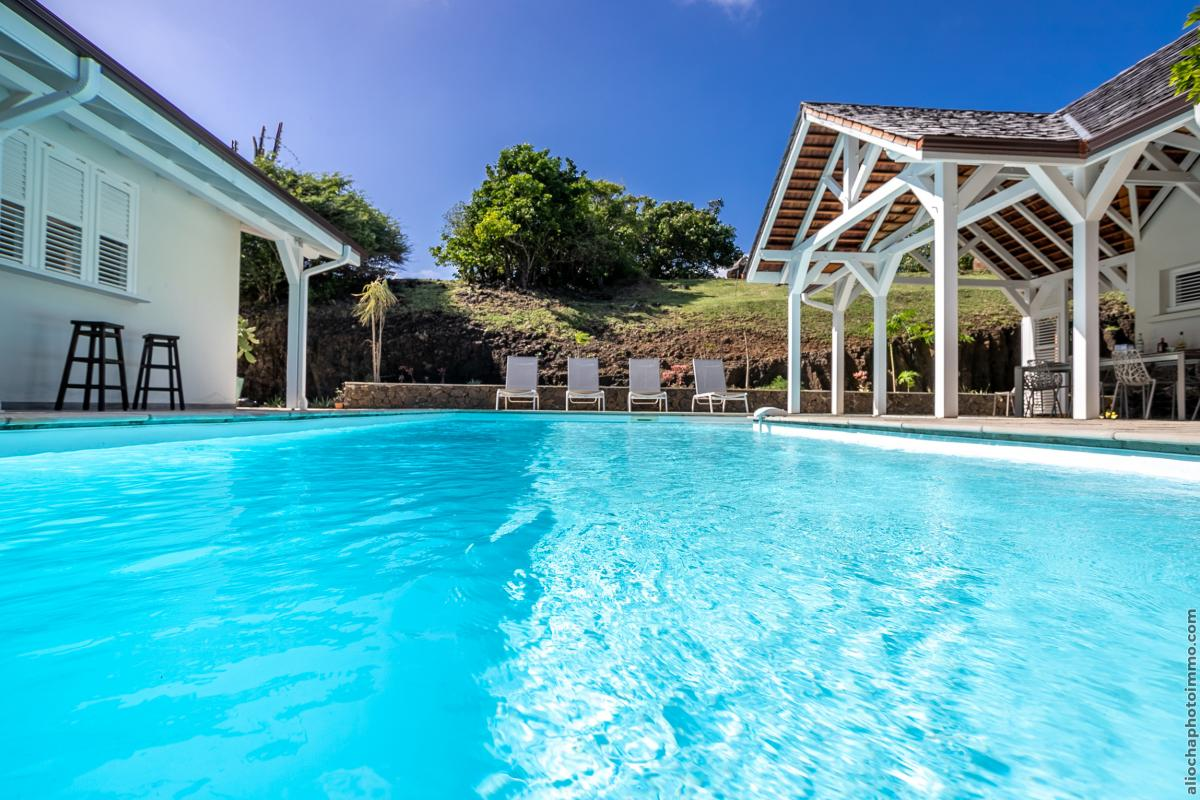 location villa de luxe martinique avec piscine