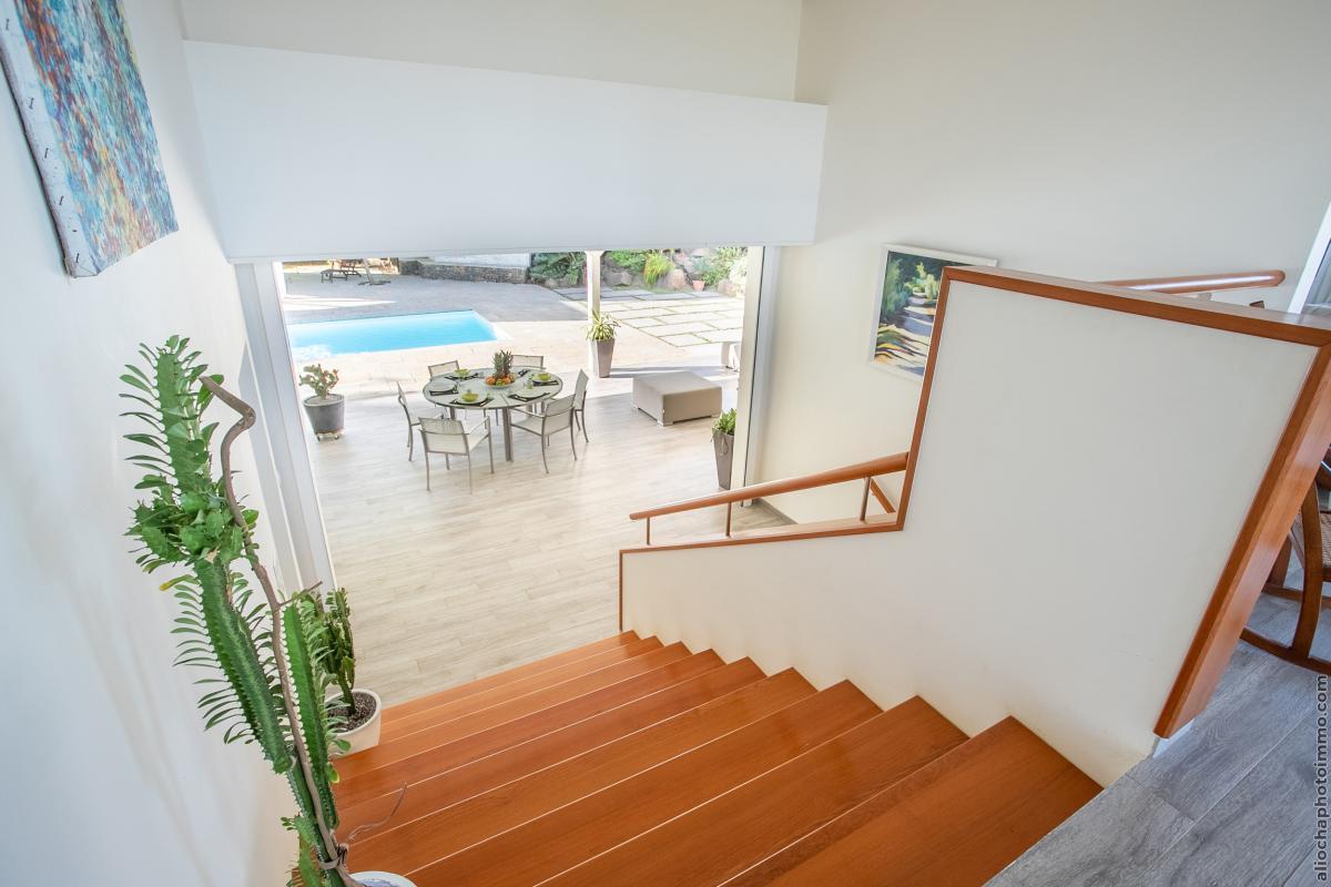 location villa de luxe martinique salon étage