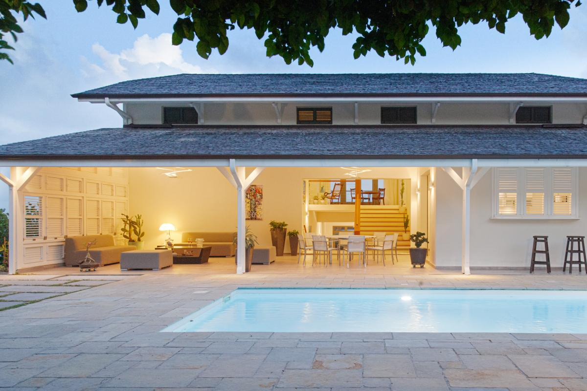 location villa de luxe martinique vue d'ensemble 2