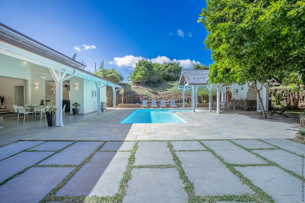 location villa de luxe martinique vue d'ensemble 3