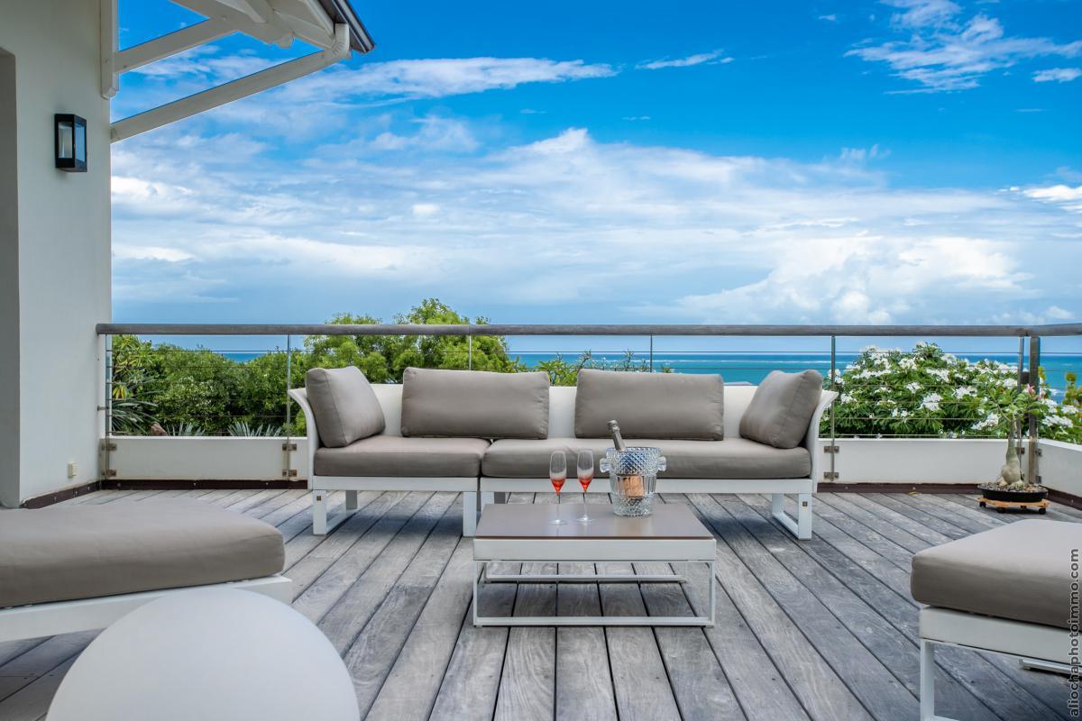 location villa martinique cap est vue mer 4 chambres