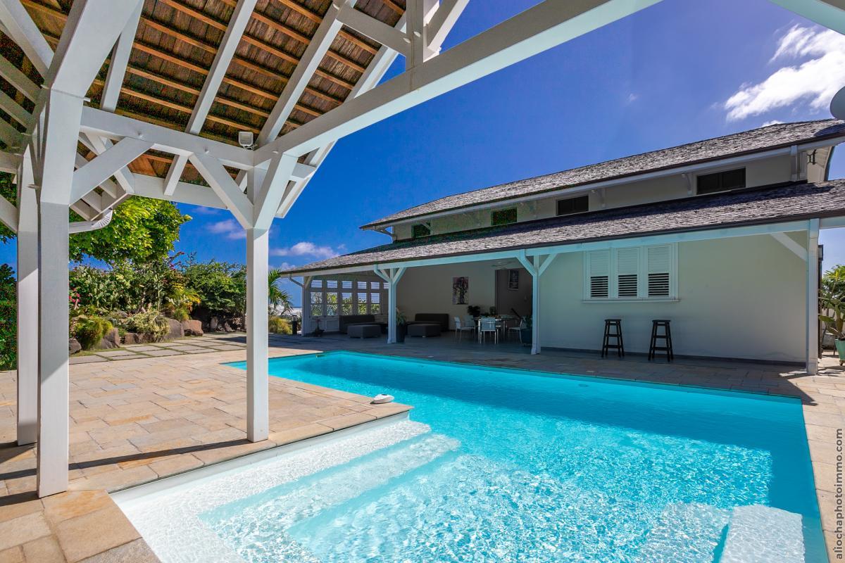 location villa martinique cap est vue mer et piscine privative