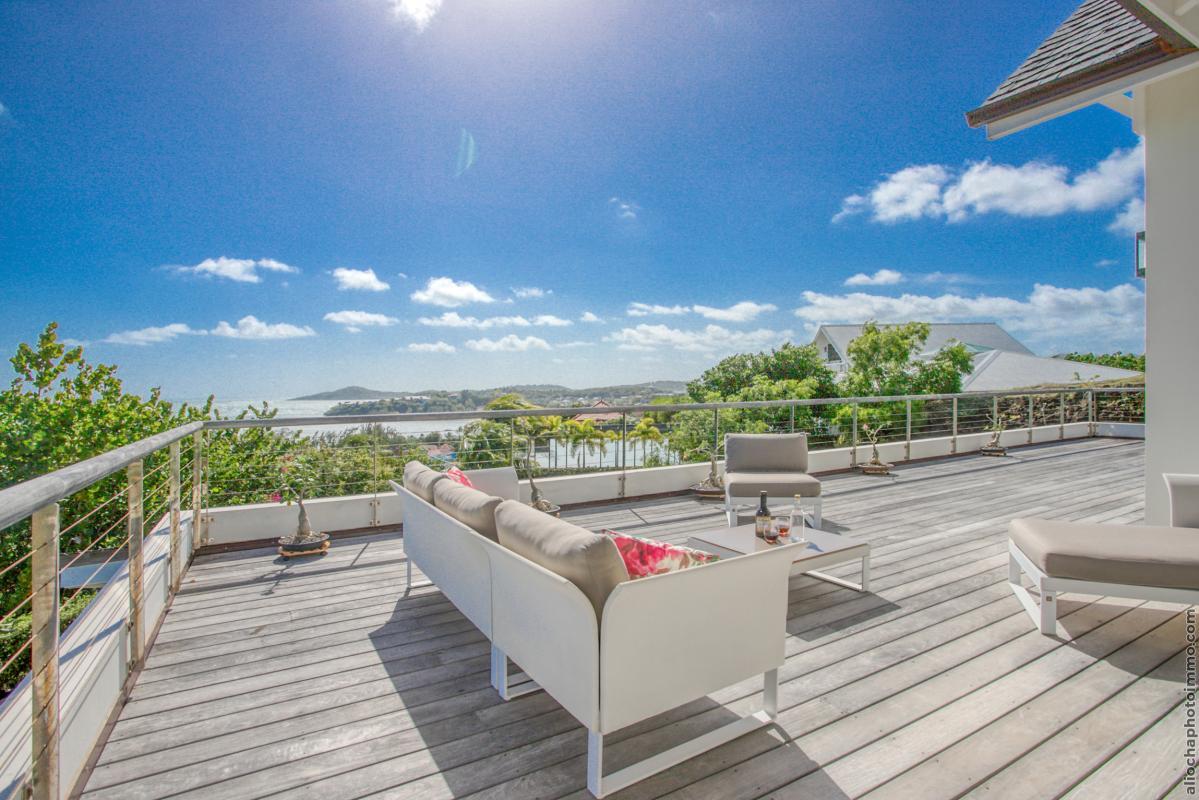 location villa martinique terrasse vue mer pour 8 personnes