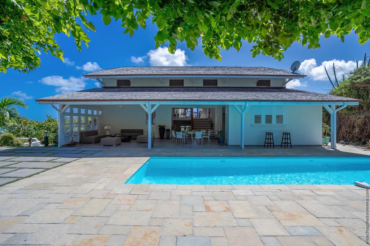 location villa martinique vue mer et piscine privative