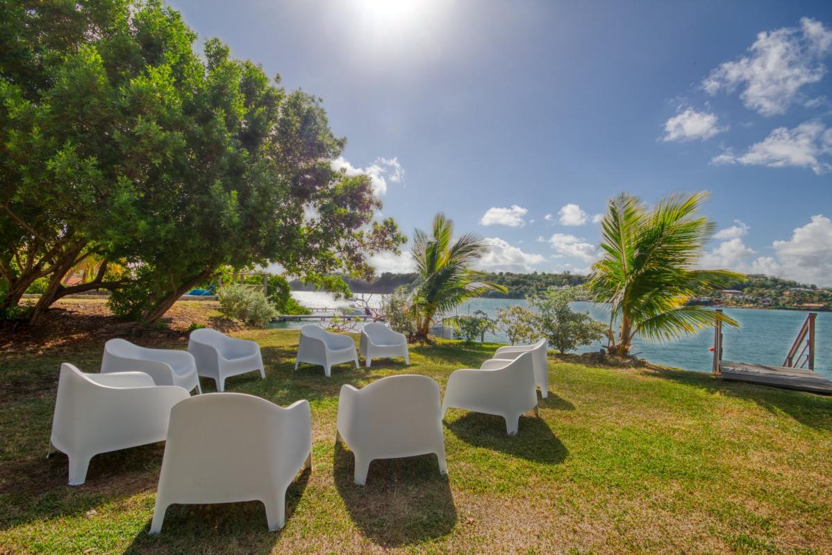 location villa de luxe martinique accès mer