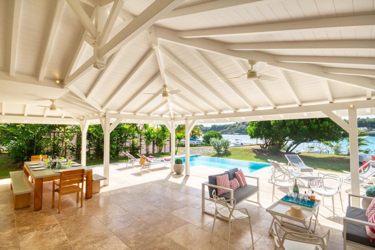location villa de luxe martinique grande terrasse