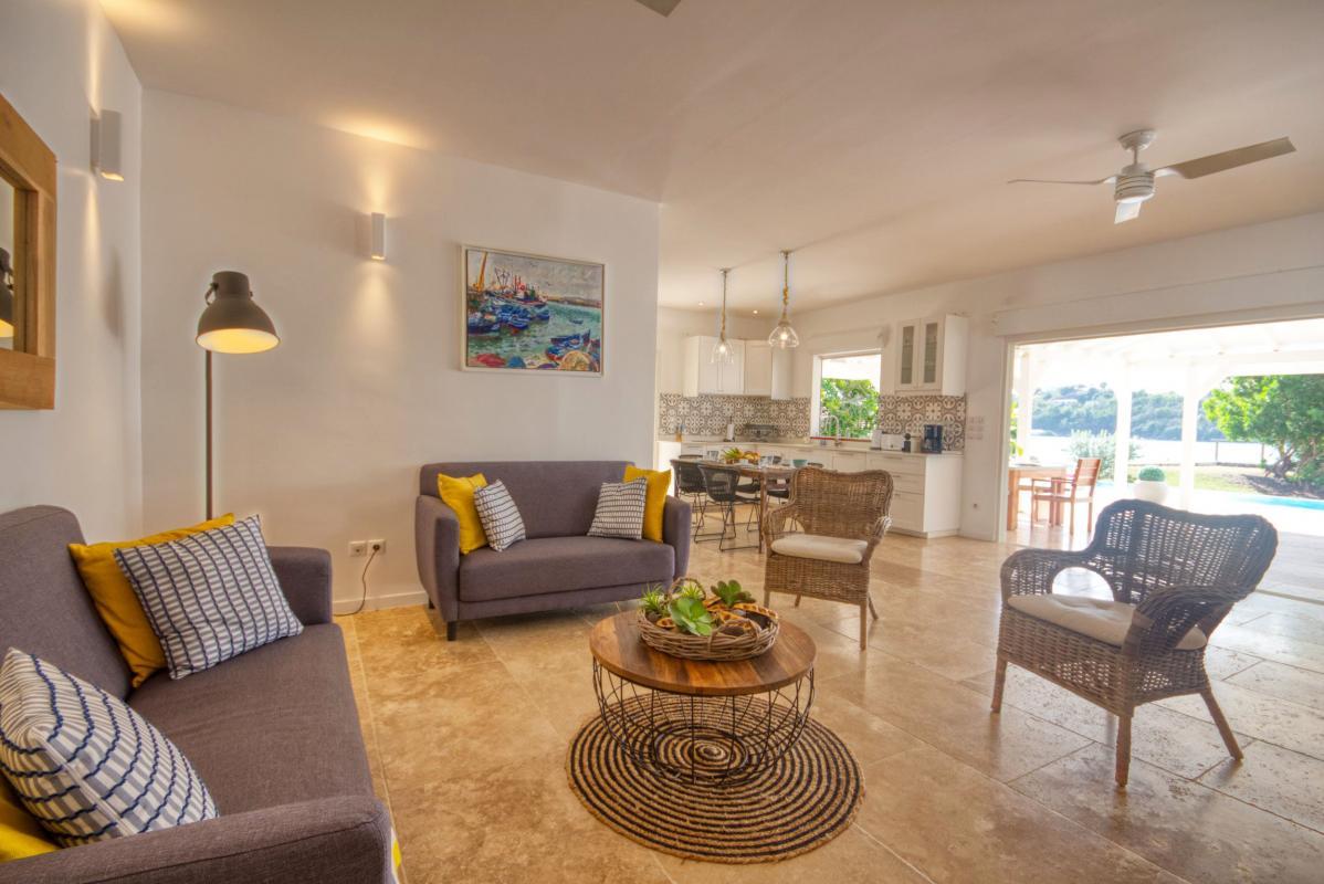 location villa de luxe martinique salon rez de jardin