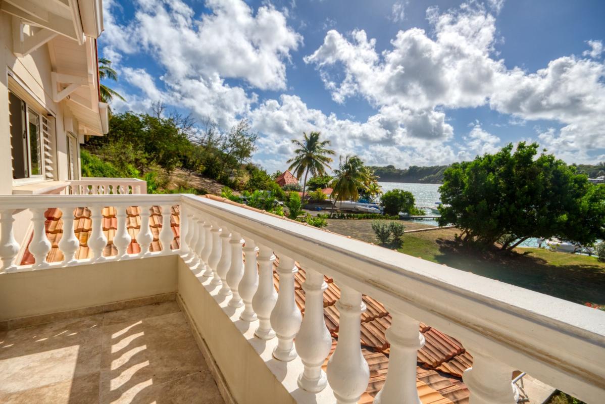 location villa de luxe martinique vue balcon chambre