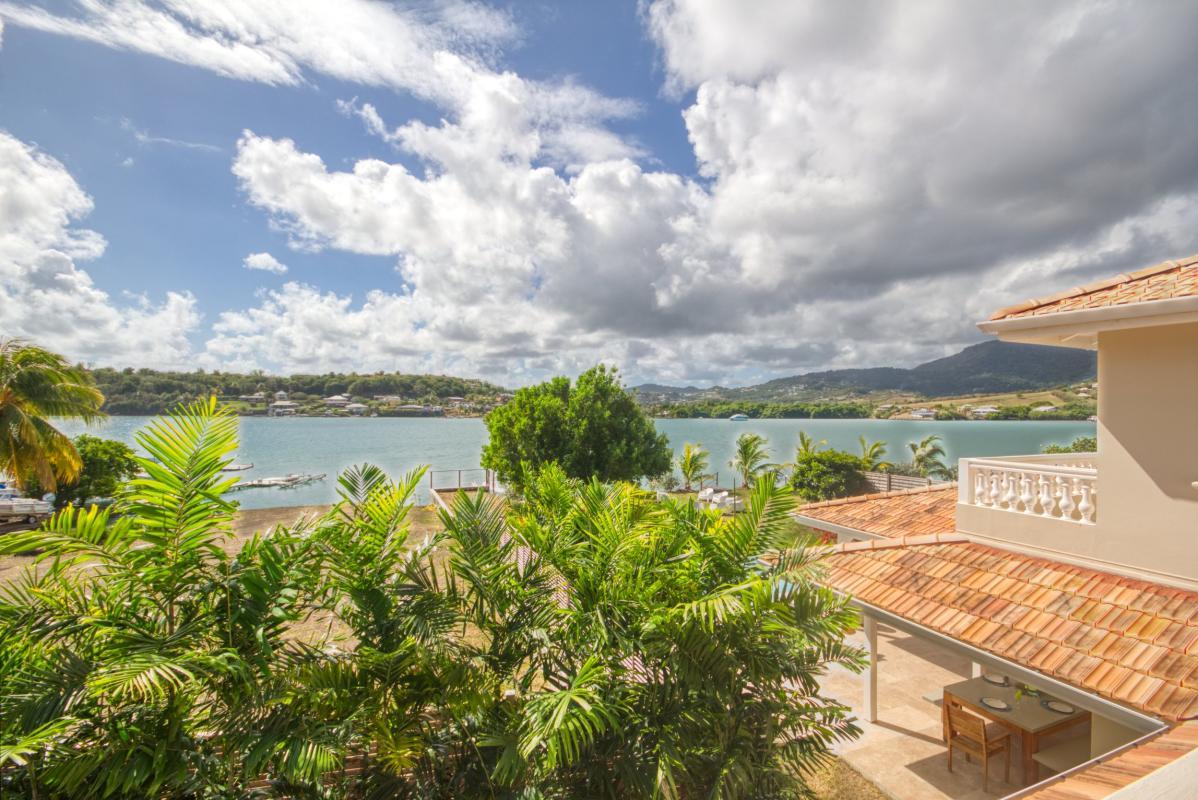 location villa de luxe martinique vue étage