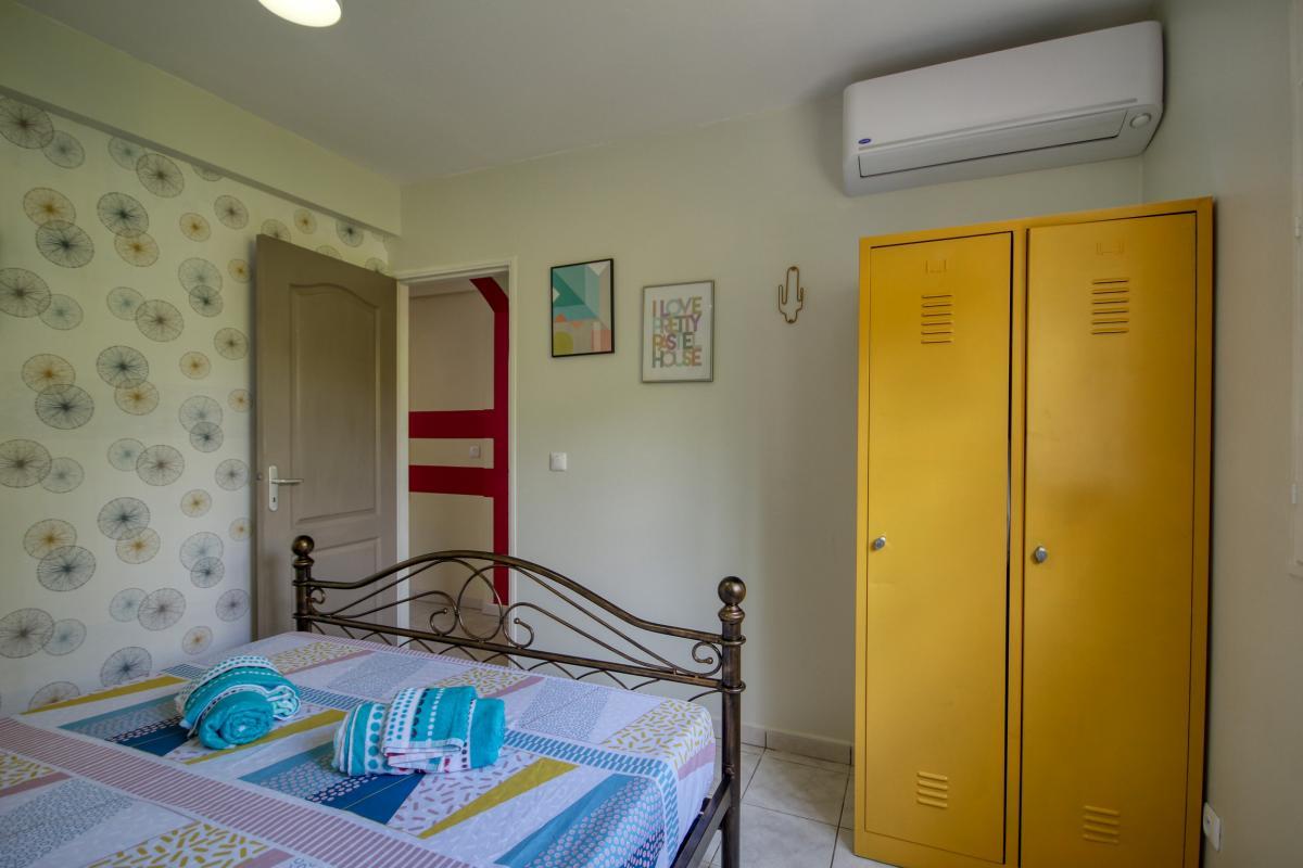 location villa Martinique 9 personnes au Marin avec piscine et Jacuzzi - vue chambre 3