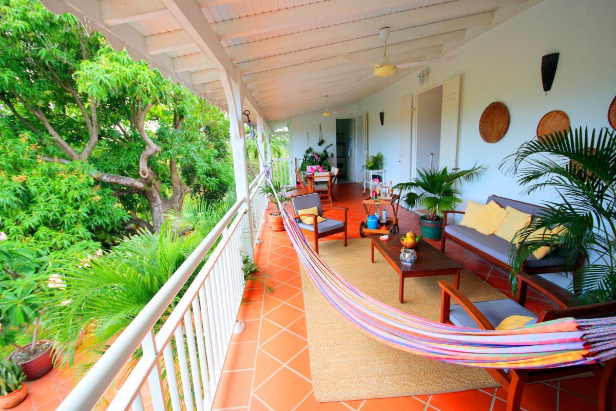 Location Martinique - Sainte Anne - terrasse bis