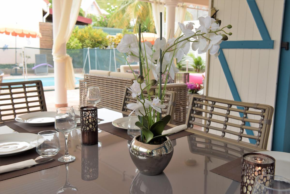 location villa martinique avec salon extérieur