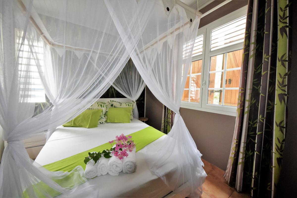 location villa martinique chambre double 2 vue 2