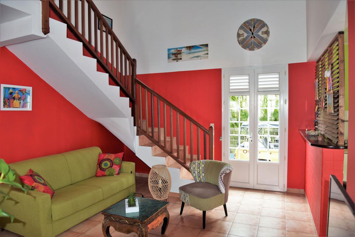 location villa martinique saint anne 6 chambres salon 1