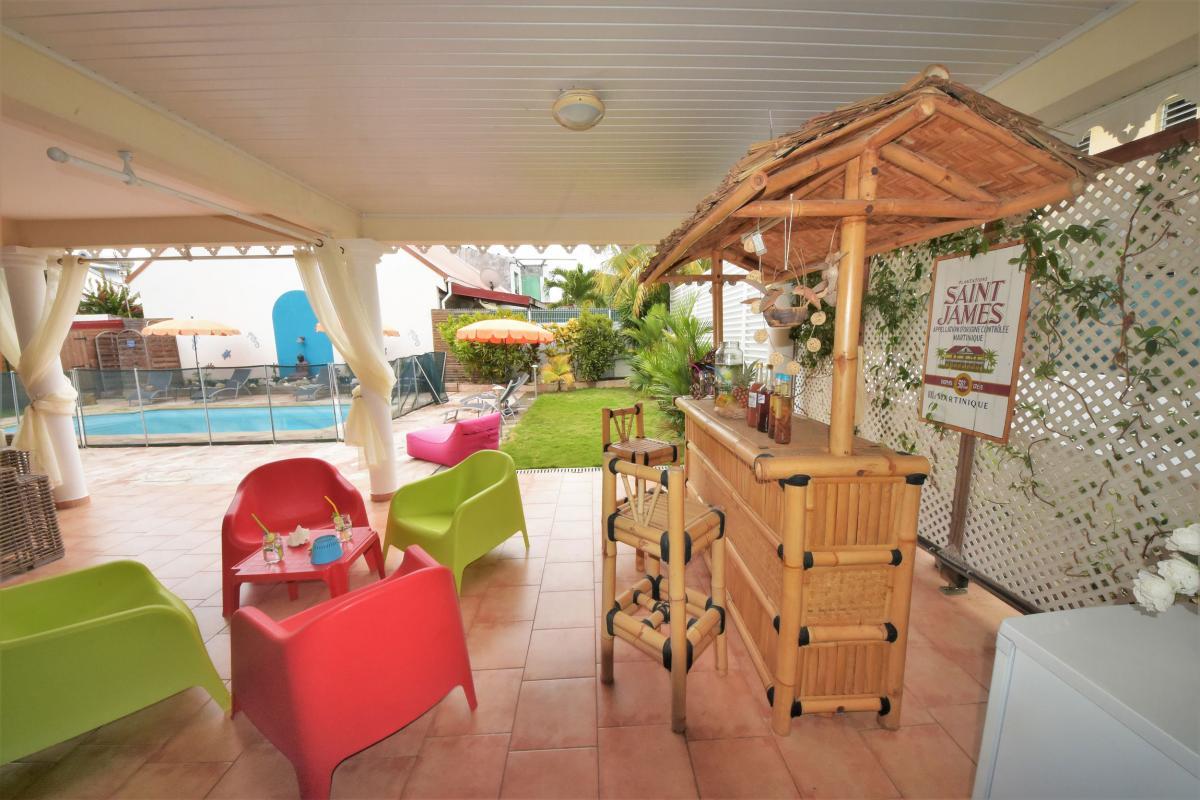 location villa martinique saint anne bar2