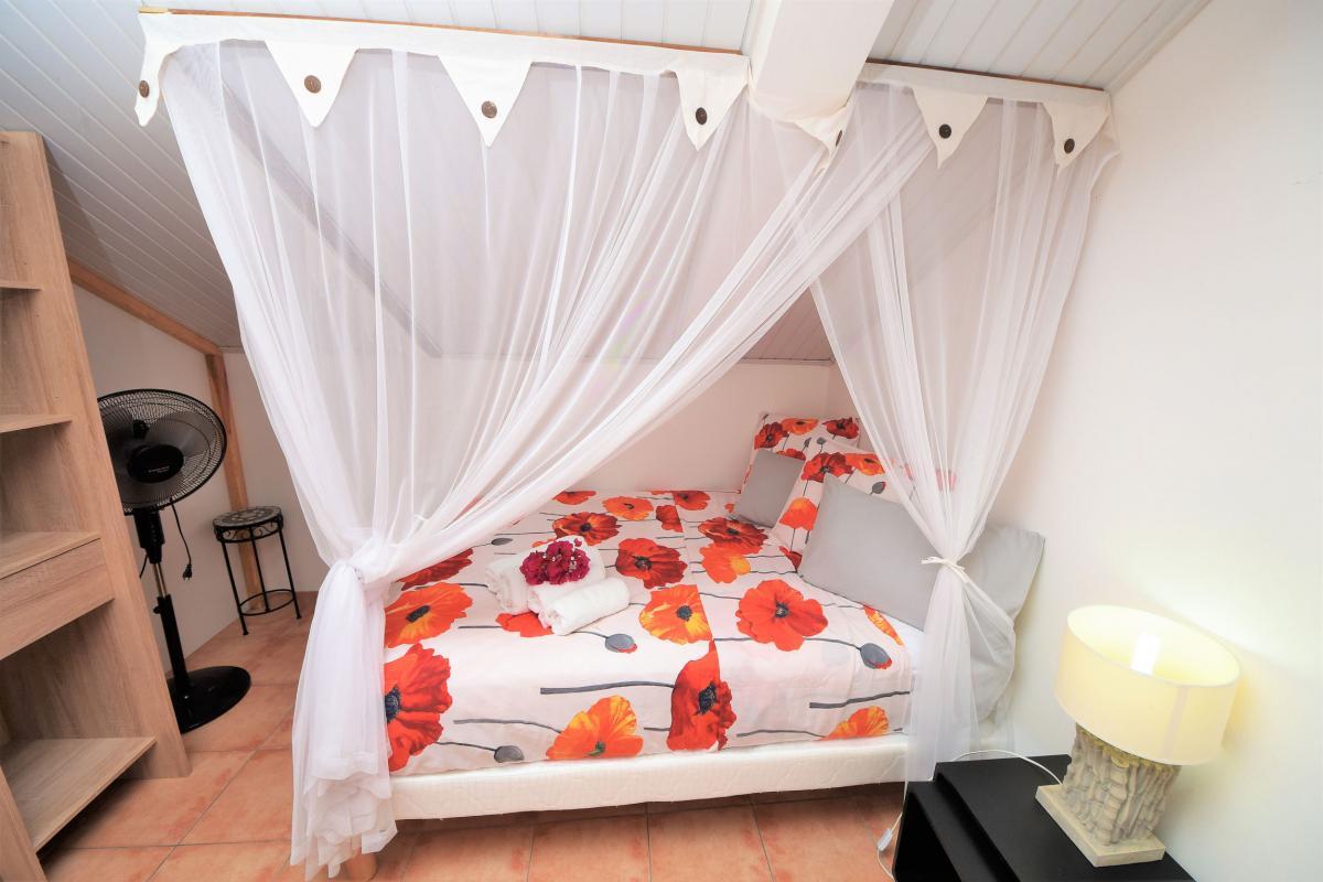 location villa martinique sainte anne chambre 6 mezzanine vue2