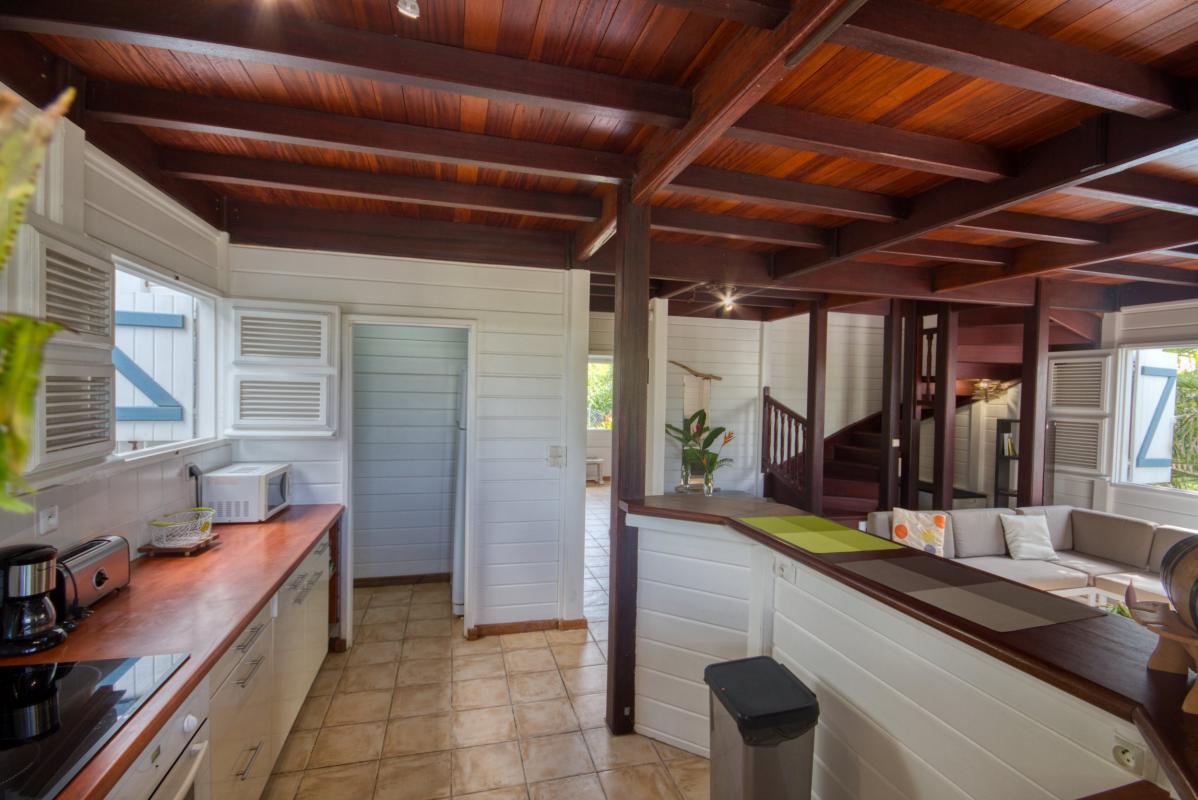 location maison martinique sainte anne cuisine vue 3