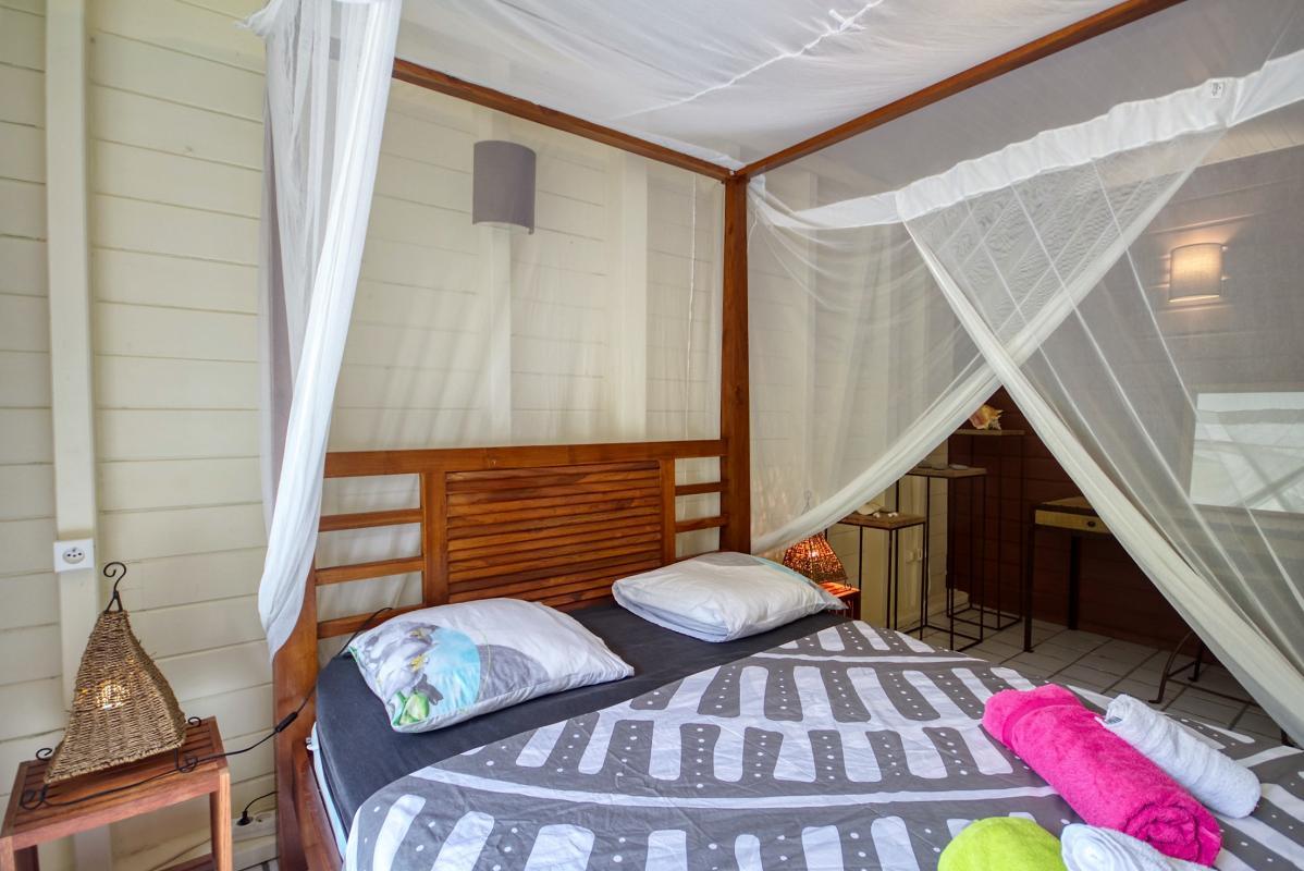 location villa de standing 12 personnes avec piscine à Sainte Anne Martinique chamb1