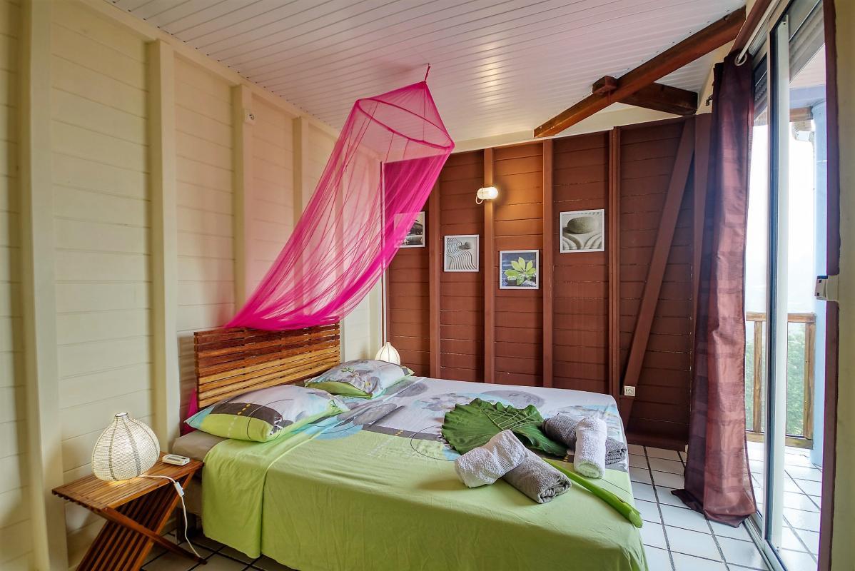 location villa de standing 12 personnes avec piscine à Sainte Anne Martinique chamb2