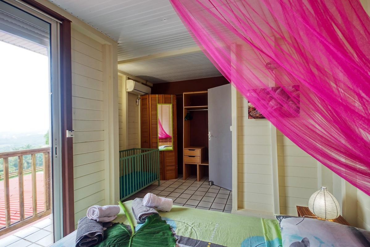 location villa de standing 12 personnes avec piscine à Sainte Anne Martinique chambre 2