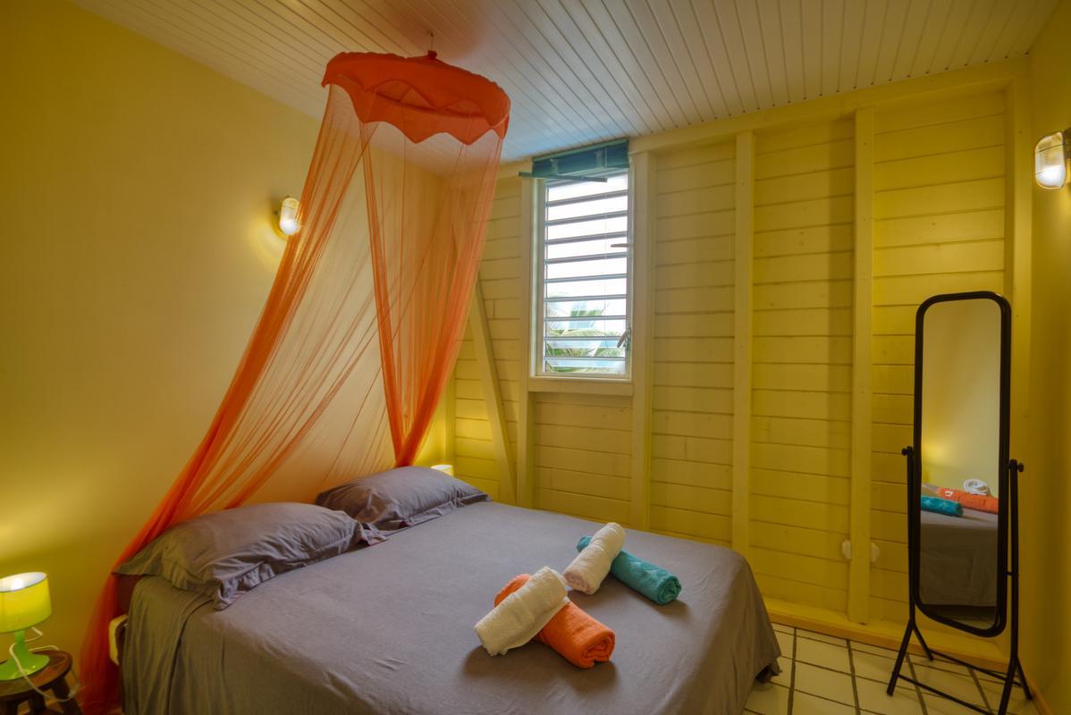 location villa de standing 12 personnes avec piscine à Sainte Anne Martinique chambre 5