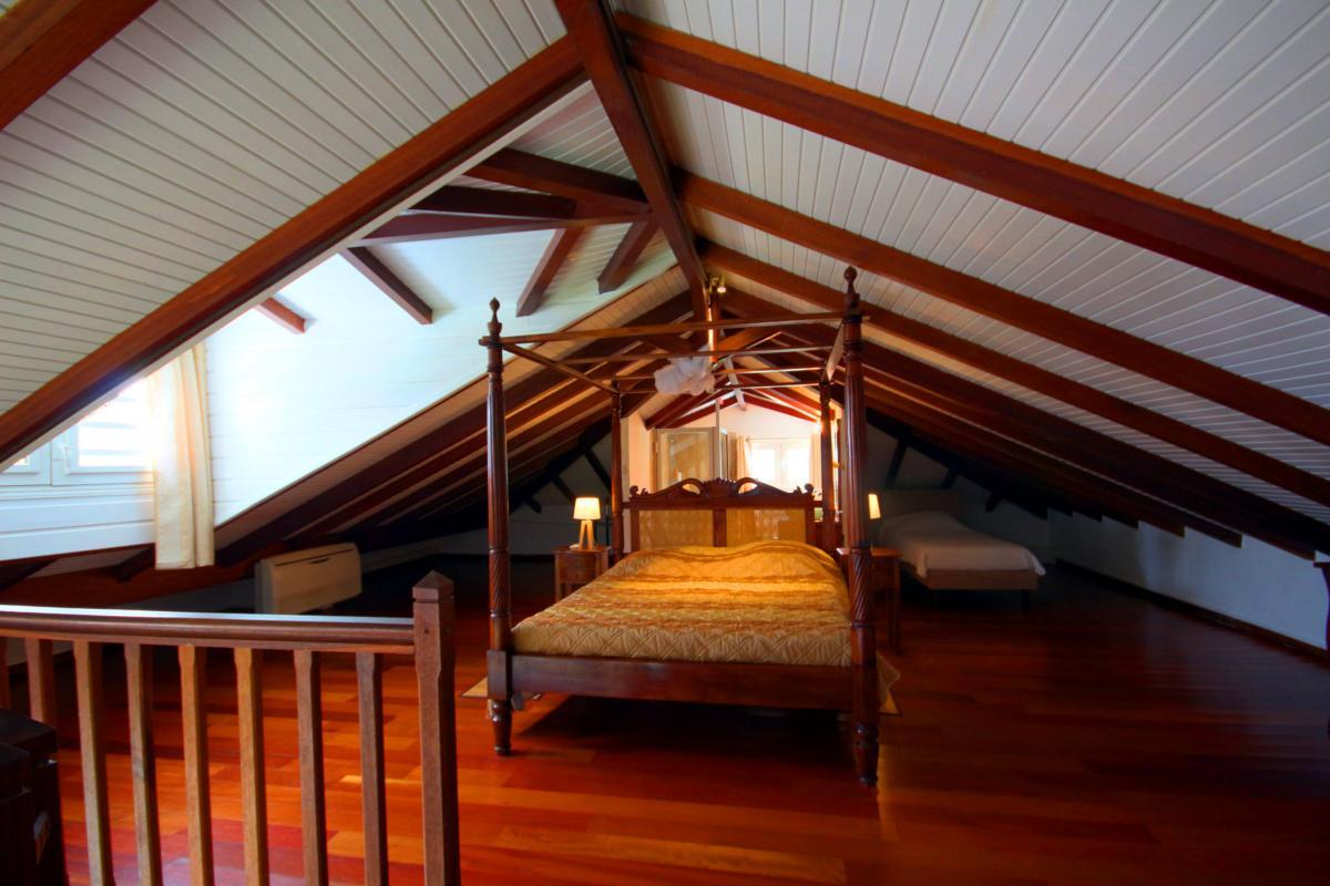 MQVA01 Location villa Martinique au Vauclin - chambre 5 mezzanine