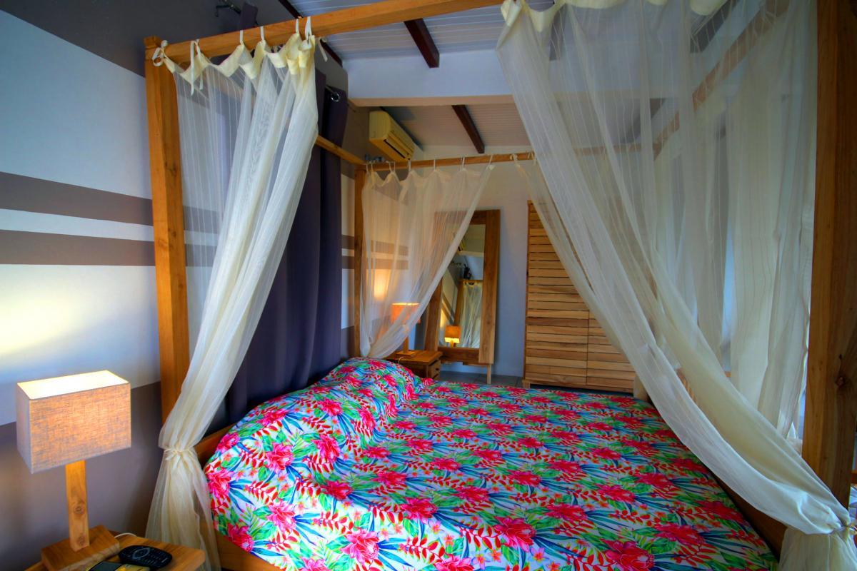 MQVA01 Location villa Martinique au Vauclin - chambre parentale rc