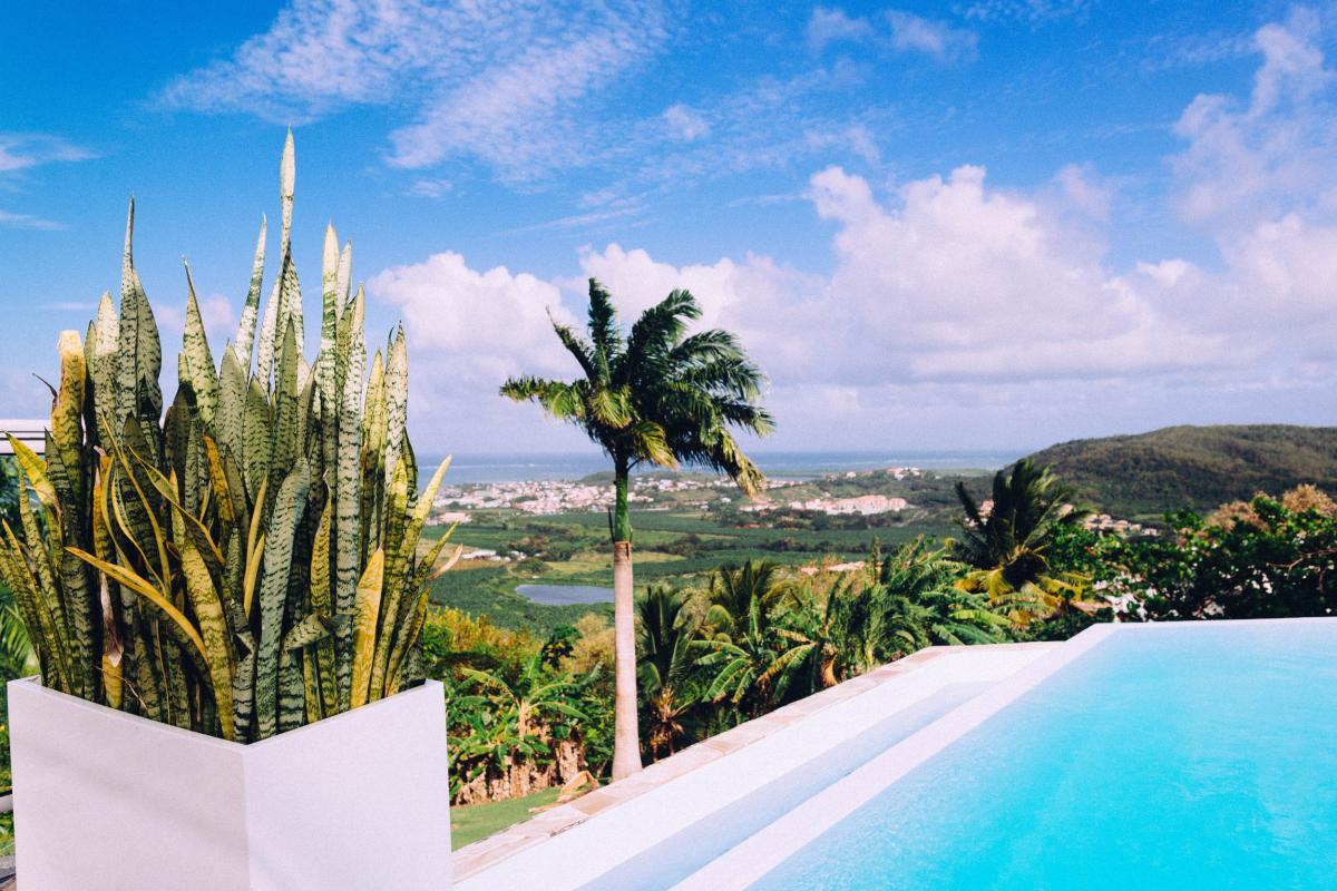 MQVA01 Location villa Martinique au Vauclin - piscine