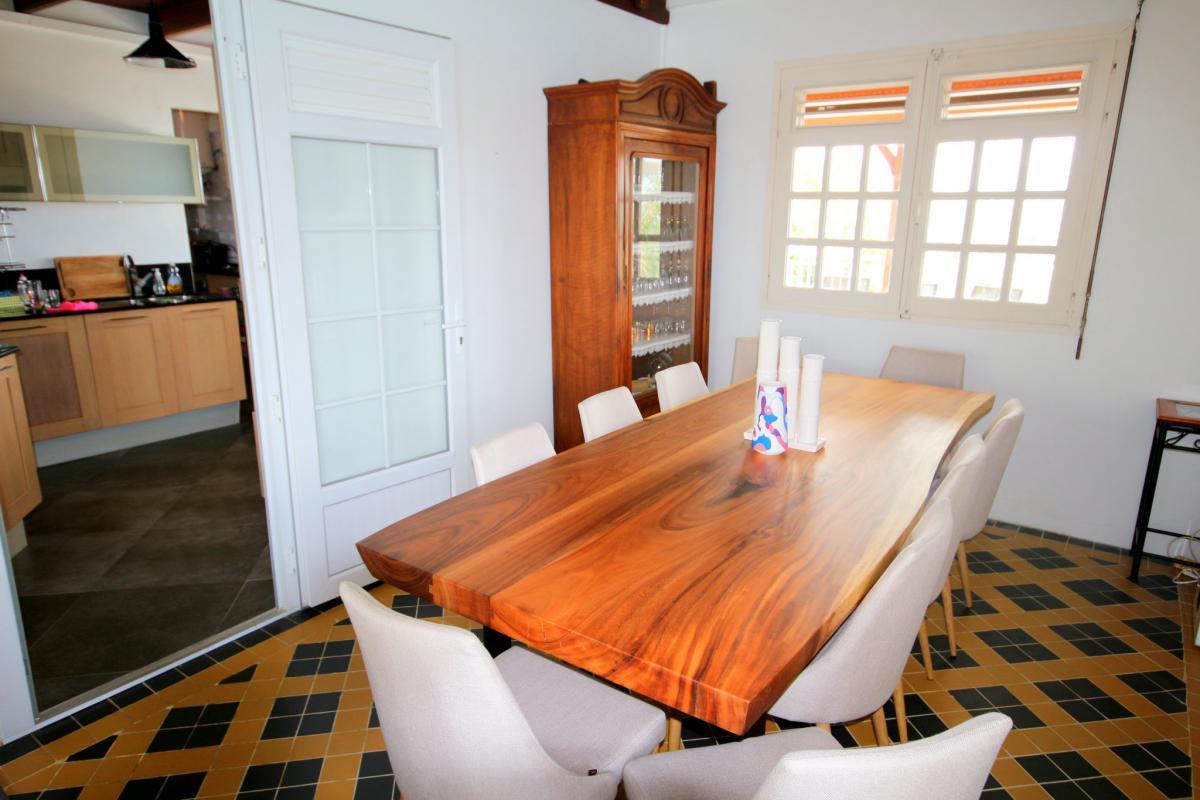MQVA01 Location villa Martinique au Vauclin - Salon