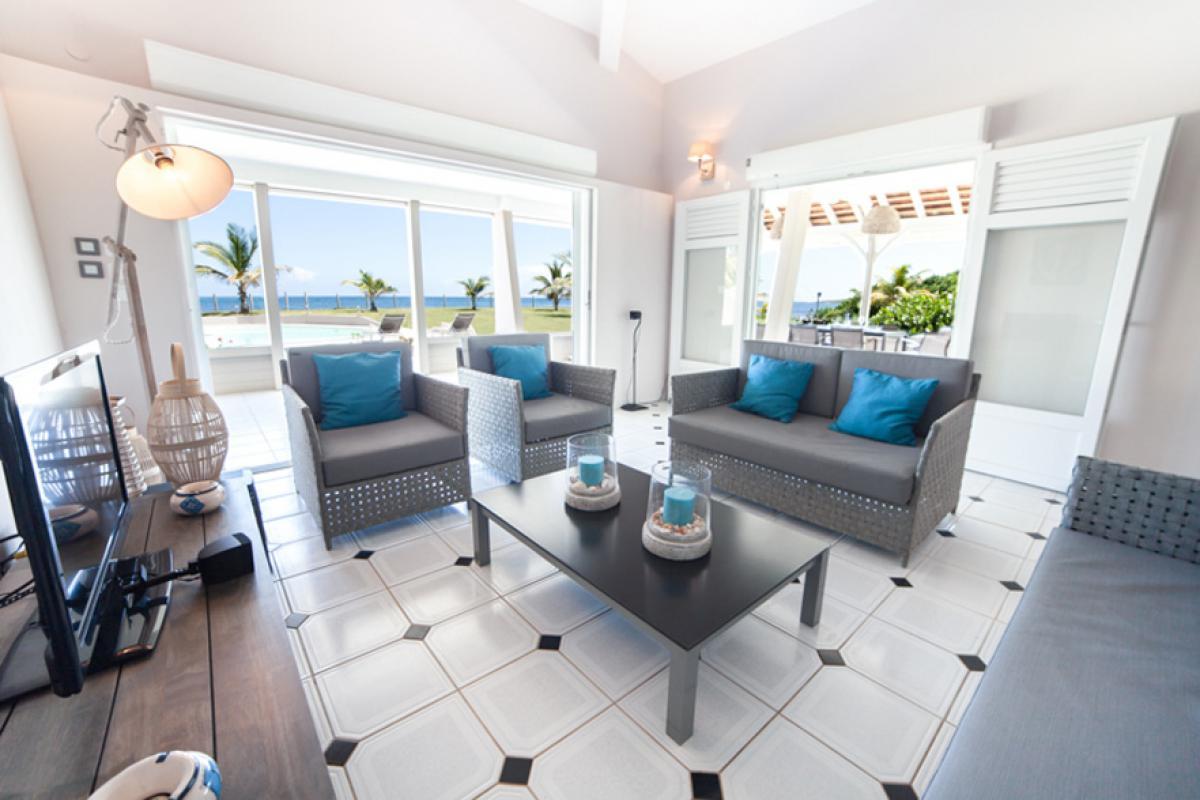 Villa luxe Martinique - Le séjour