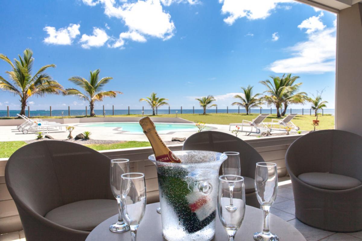 Villa luxe Martinique - Salon extérieur