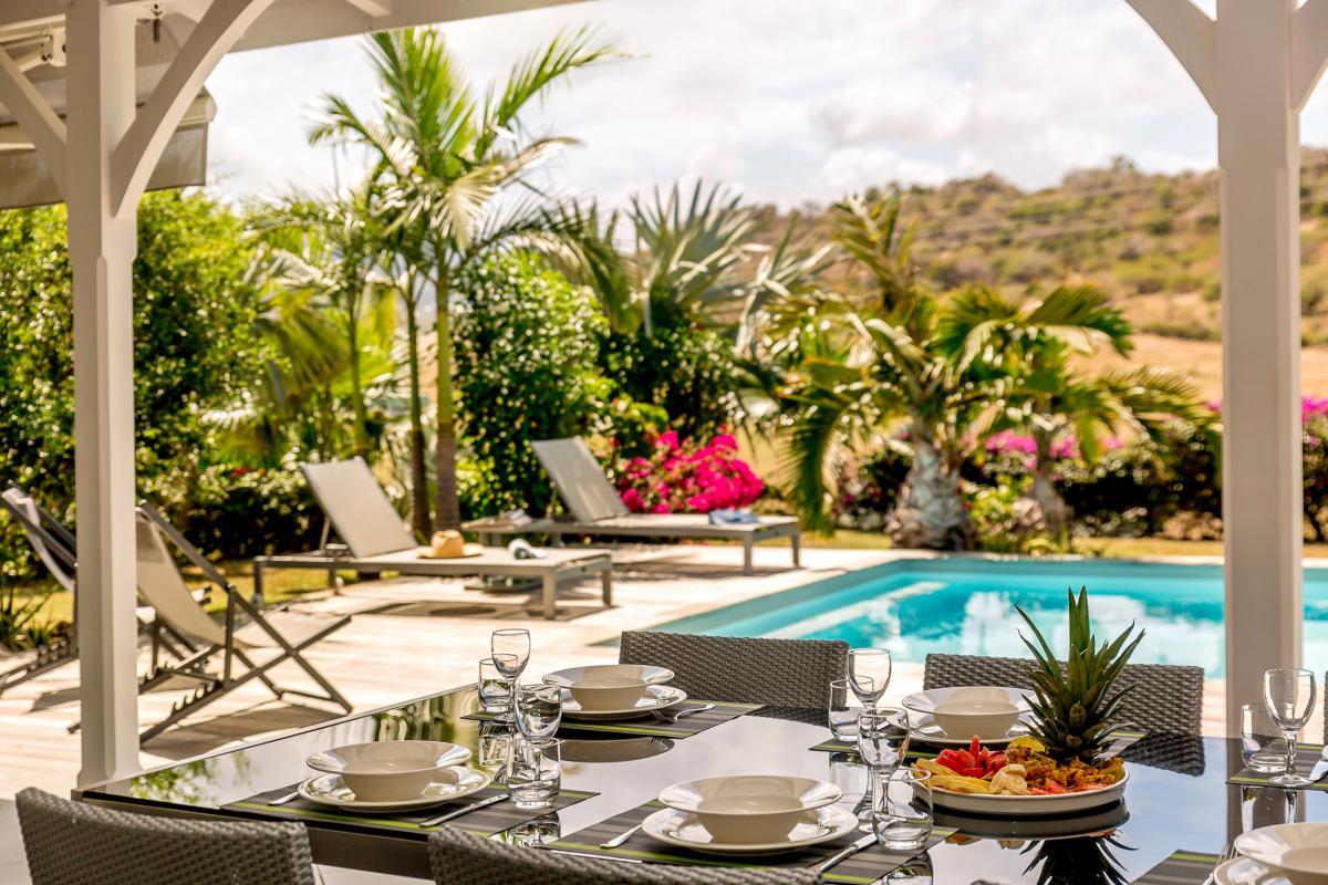Villa de standing avec piscine proche plage Le Vauclin Martinique