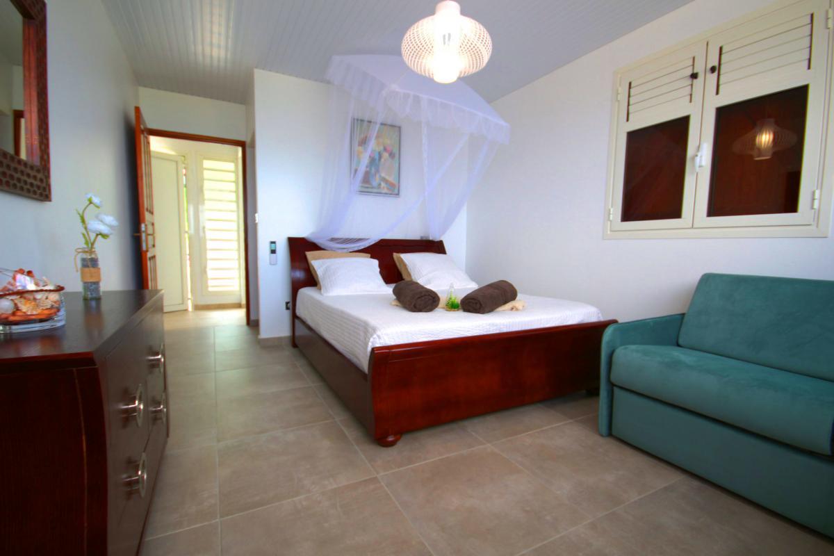 Location villa de luxe Martinique piscine vue mer Chambre 2