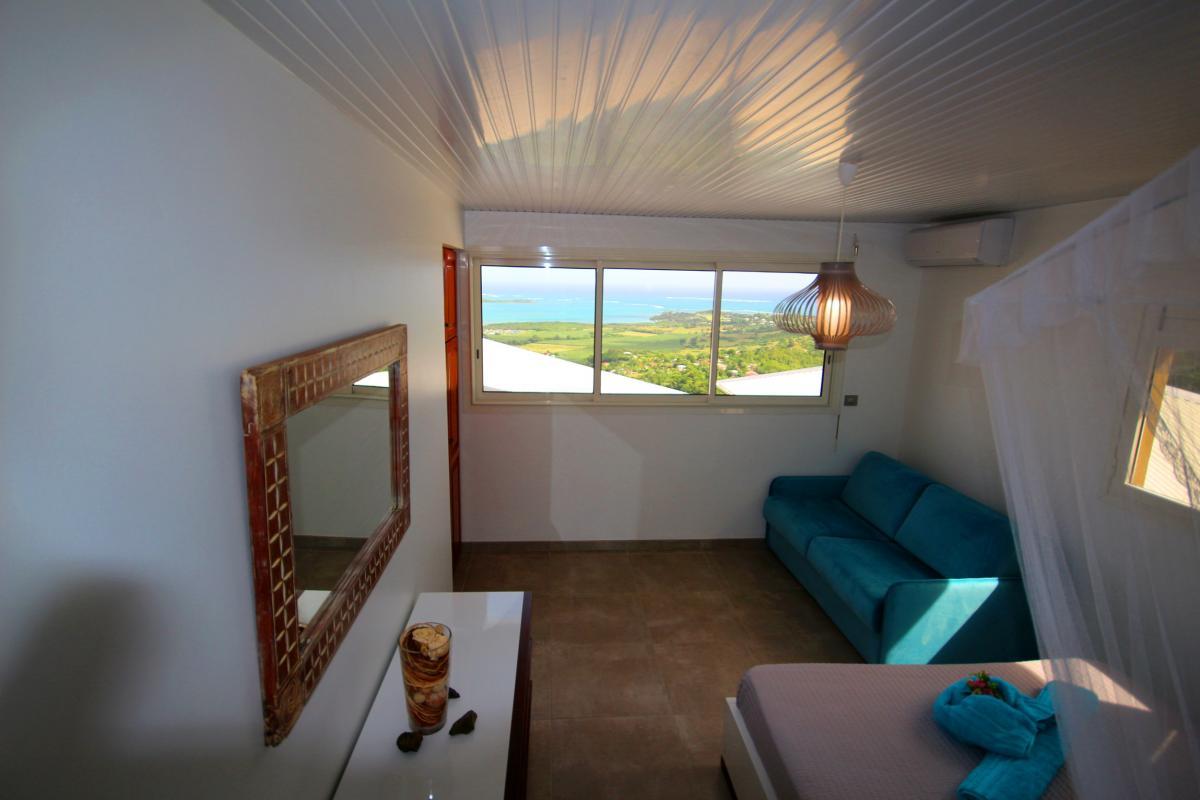 Location villa de luxe Martinique piscine vue mer chambre 3