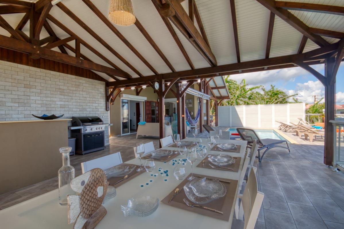 location villa martinique grande terrasse couverte