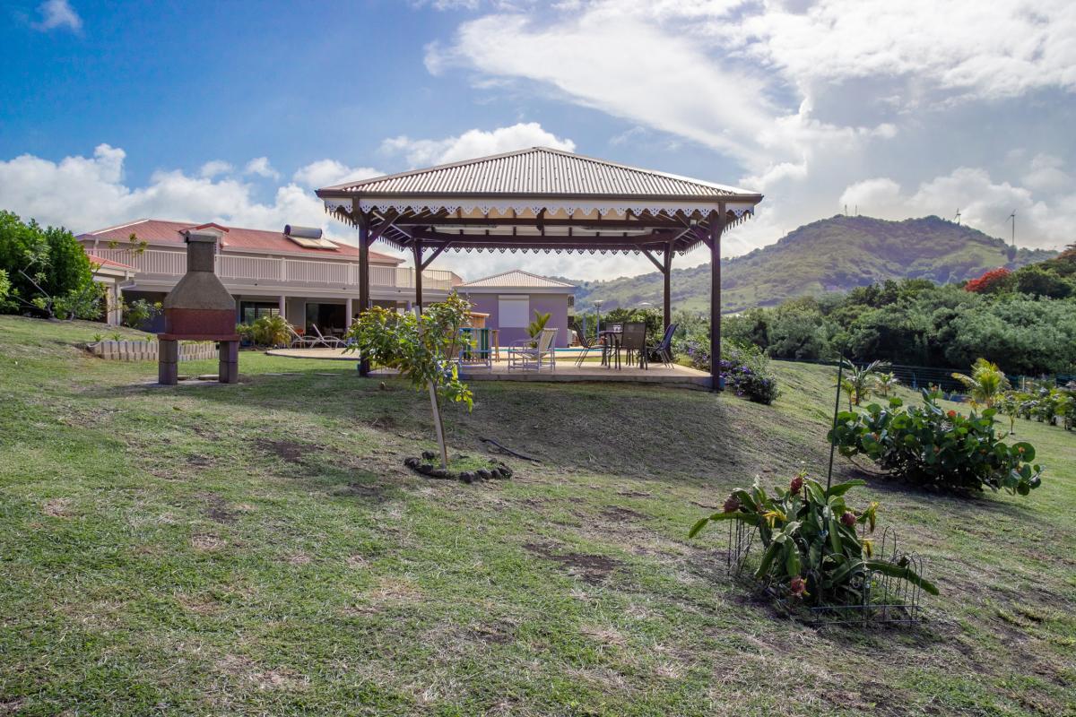Location maison martinique avec carbet