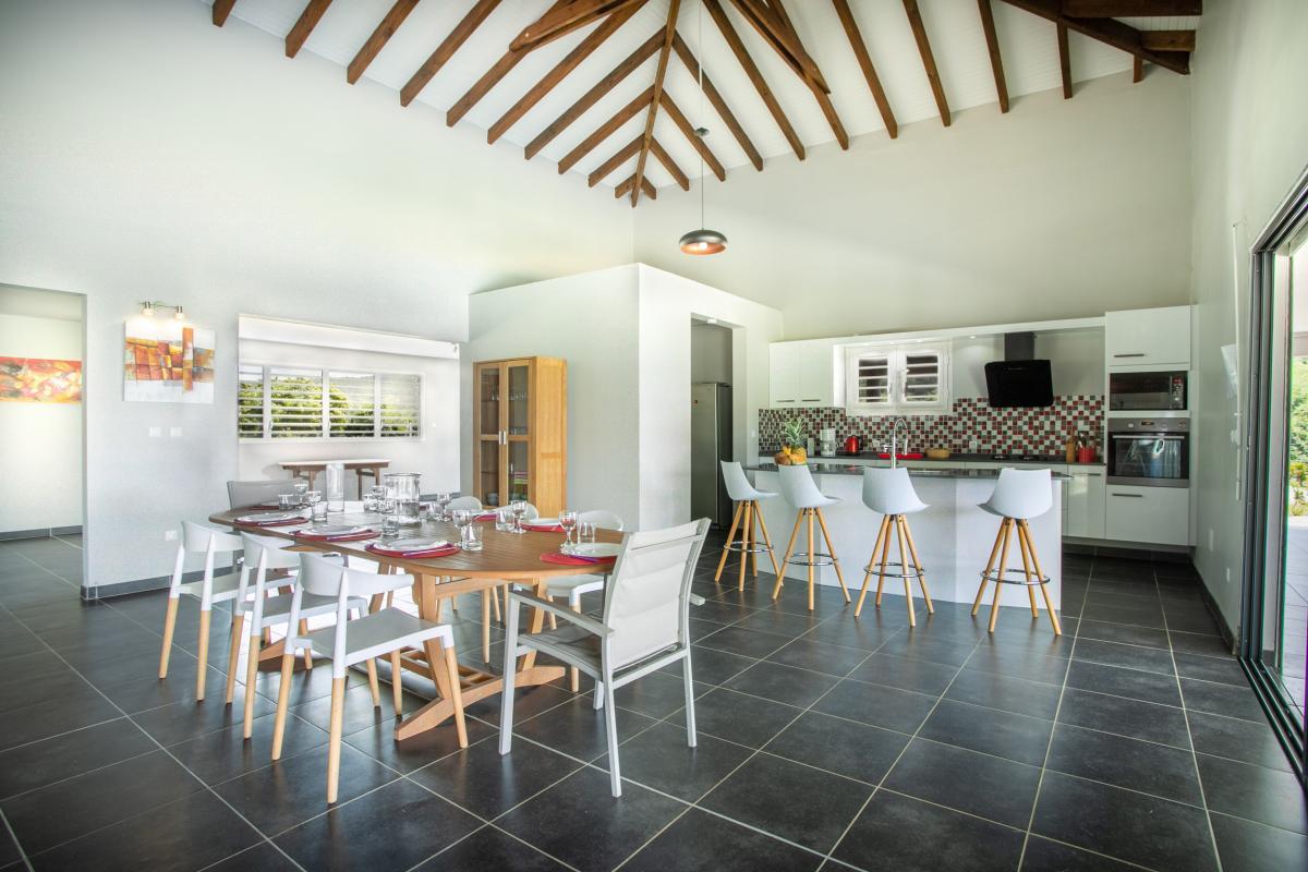 Location Maison Martinique avec cuisine équipée