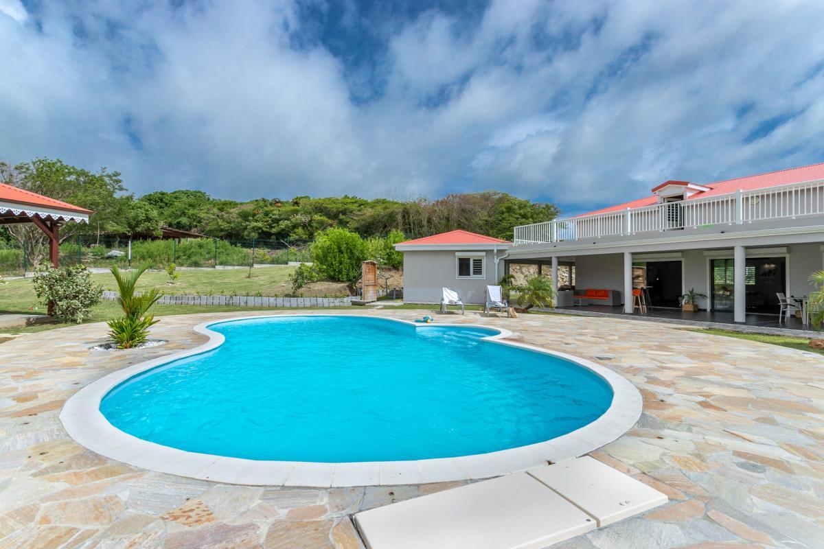 Location villa 5 chambres en martinique au vauclin avec piscine