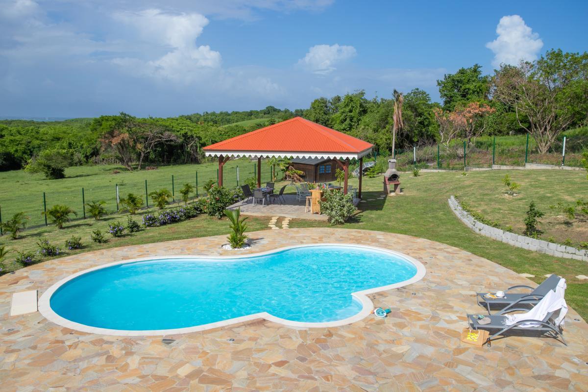 Location Villa au Vauclin en Martinique avec piscine