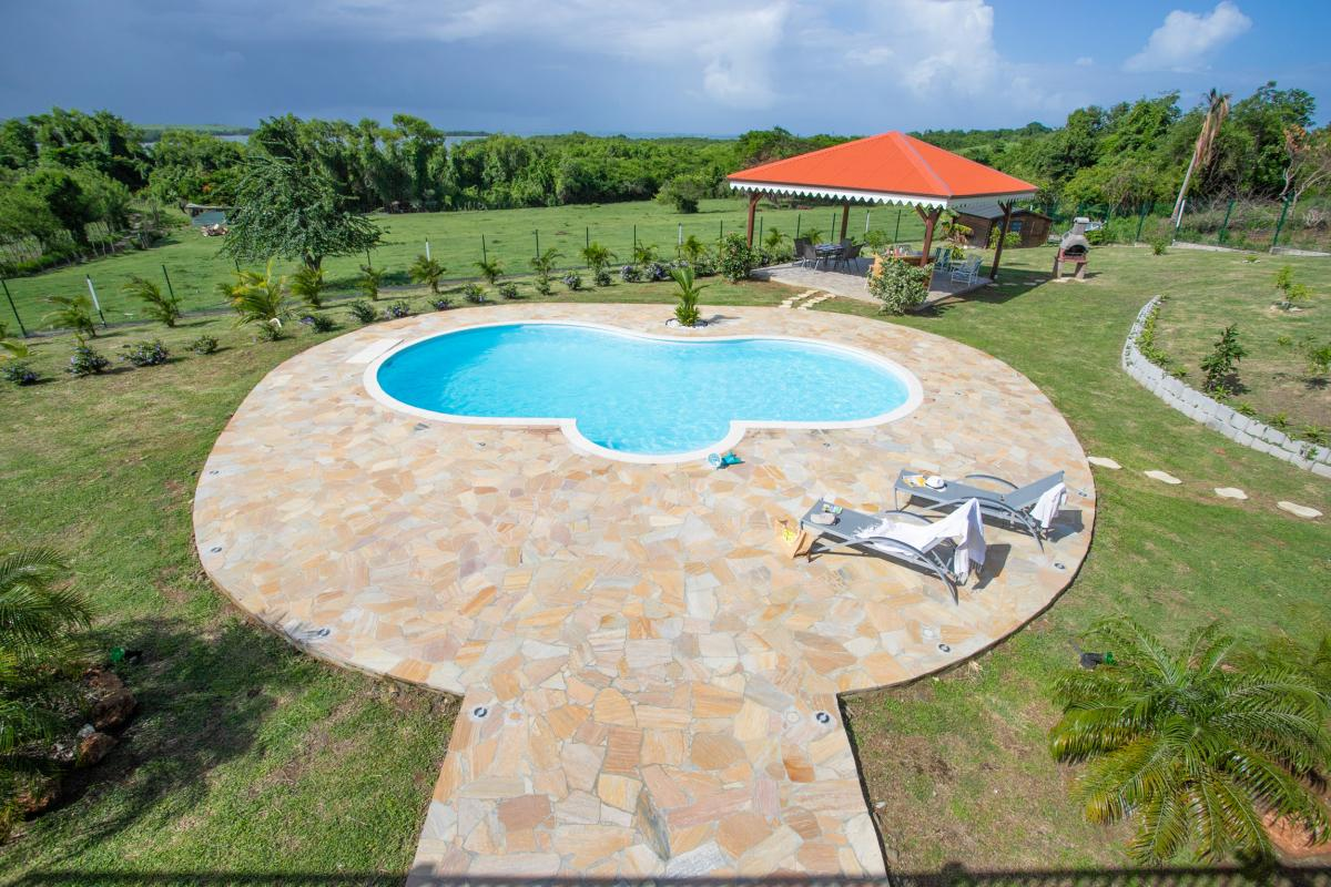 Location villa de luxe avec piscine en martinique