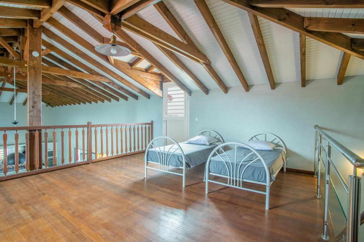 Location villa martinique chambre étage
