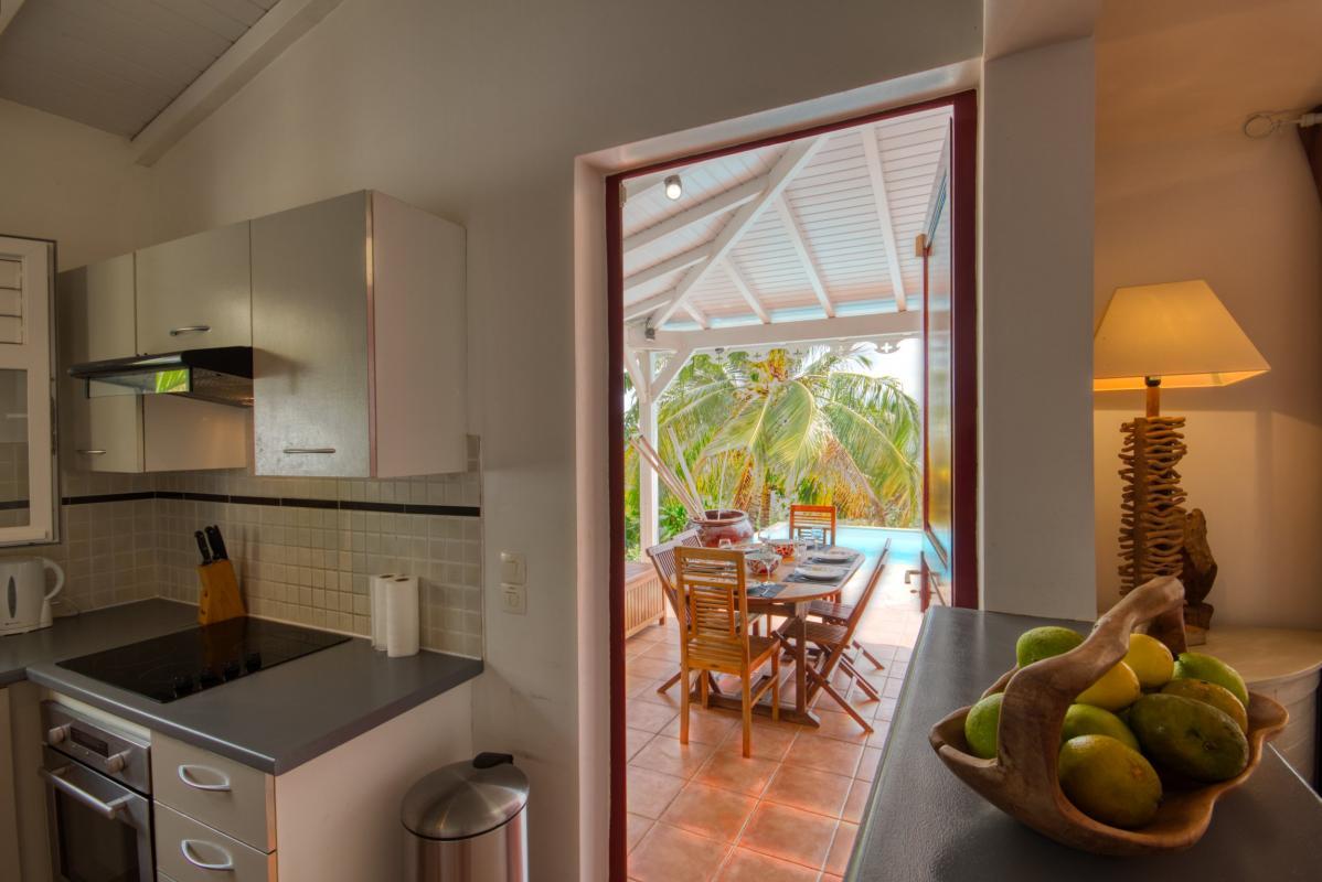 location villa martinique cuisine équipée vue 2