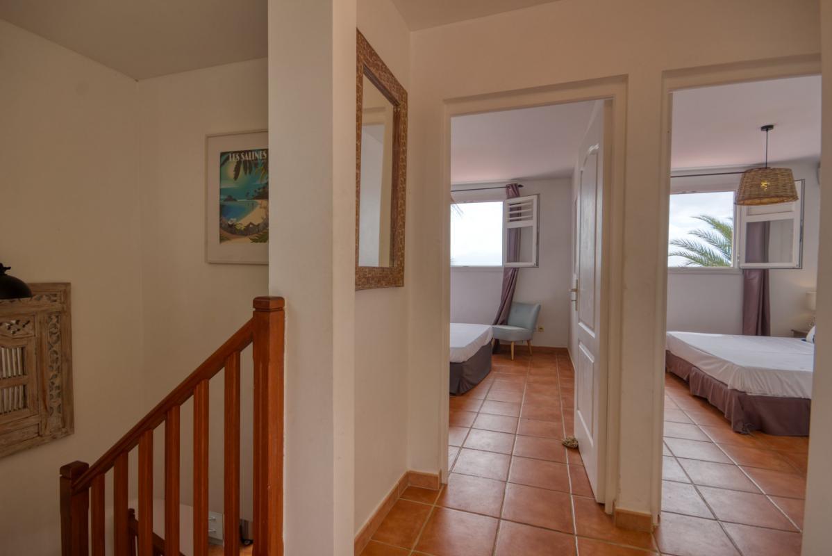 location villa martinique étage avec 2 chambres