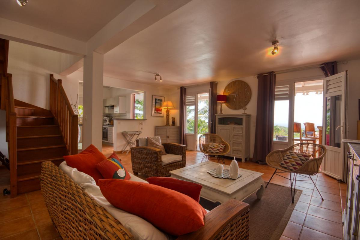 location villa martinique grand salon vue 2