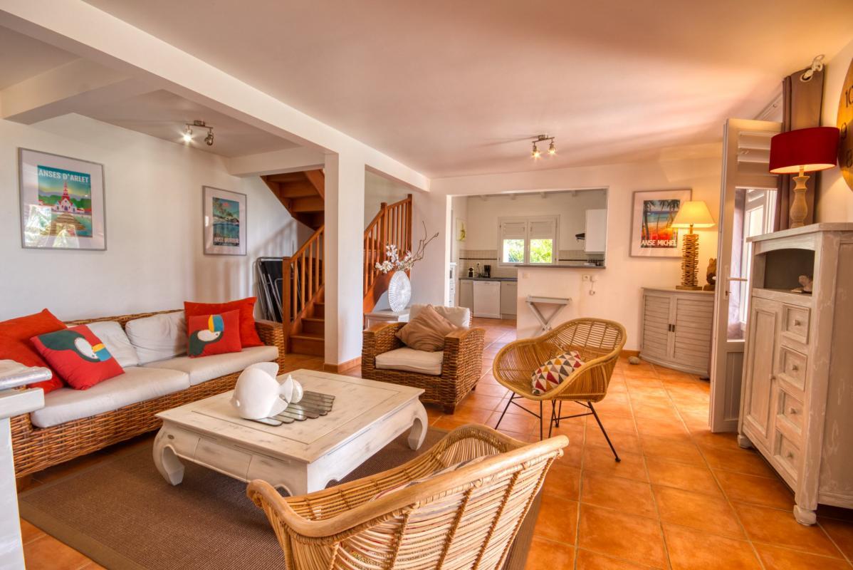 location villa martinique grand salon