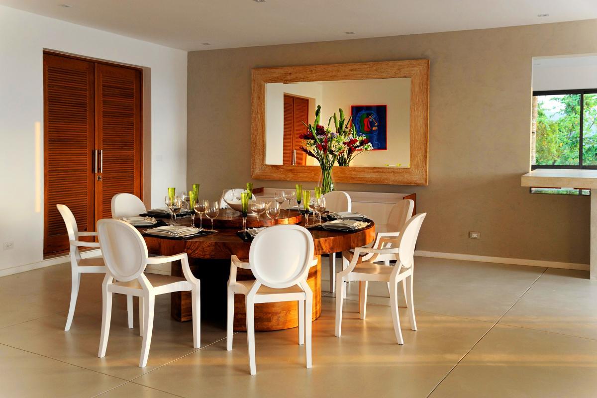 Location villa Las Terrenas - La salle à manger