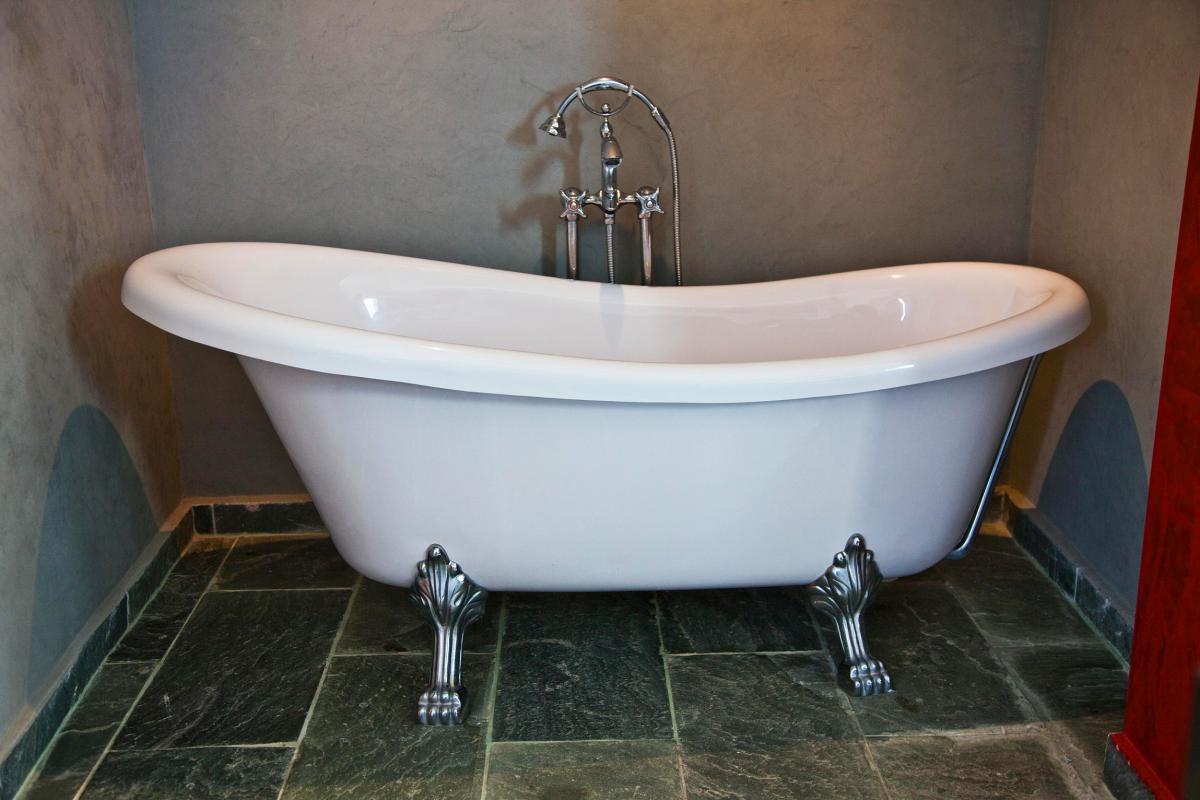 Location villa Las Terrenas - La salle de bain de la chambre 1
