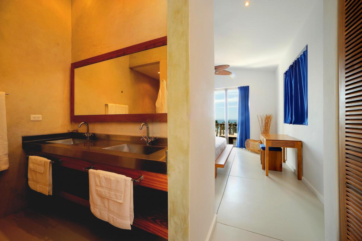 Location villa Las Terrenas - La salle de bain de la chambre 5
