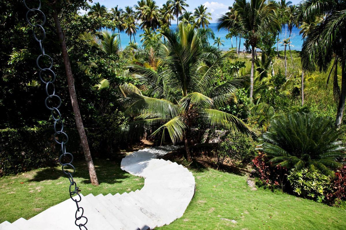 Location villa Las Terrenas - Le jardin