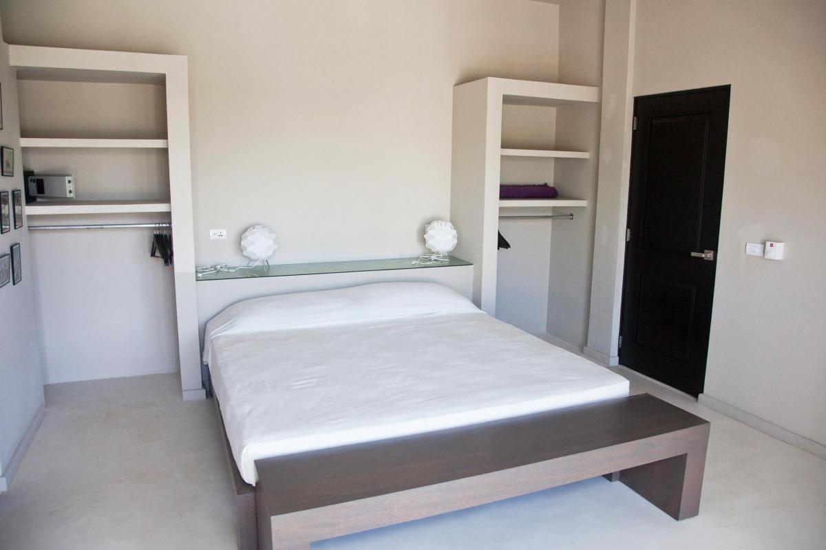 Location villa Las Terrenas - La chambre des invités du niveau intermédiaire